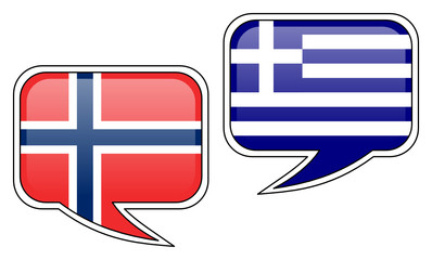Norwegian-Greek Conversation