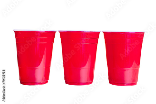 Red cups USA - 70435938