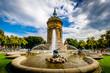 Leinwanddruck Bild - am Wasserturm