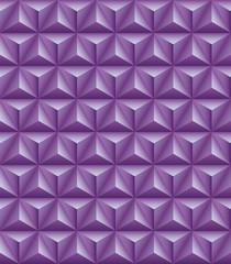 Tripartite pyramid lilac seamless texture