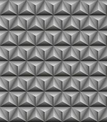 Tripartite pyramid gray seamless texture