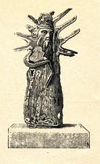 Image of Perun (Neustrelitz museum, Germany, ca. 1929)