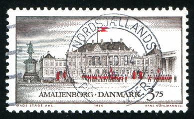 castle Amalienborg Copenhagen