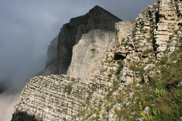Tête du Lauzon (alt 2278 m) vue du Col de Charnier