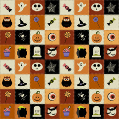 Background with Halloween elements