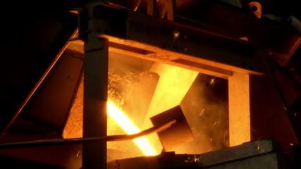 iron, steel smelting