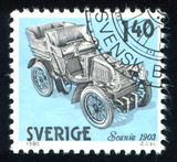 Swedish Automobile History poster