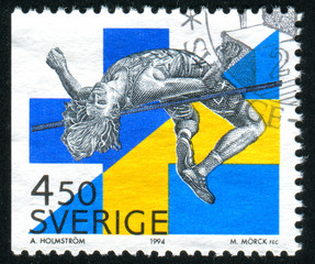 Patrick Sjoberg Sweden high jump
