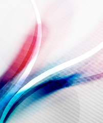 Blue and purple color wave background