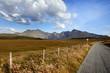 Strasse in Schottland
