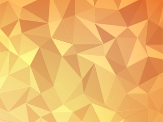 orange polygon geometric abstract background