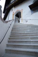 scalinata santuario san romedio