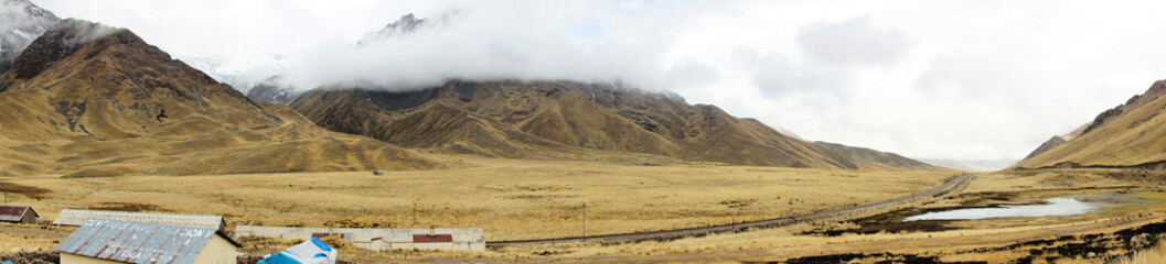 Entrance to La Raya and Pukara, Puno, Peru