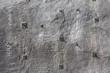 Shotcrete wall, wall of sprayed concrete