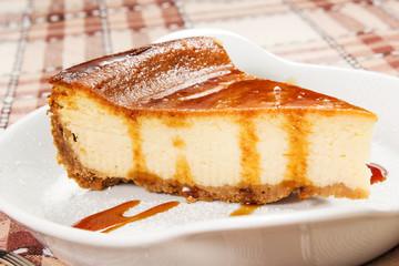 cheesecake with caramello