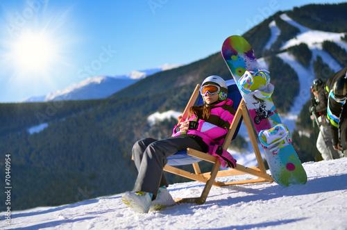Fototapeta сноуборд, зима