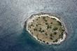 Leinwanddruck Bild - Kornati archipelago, Adriatic sea in Croatia