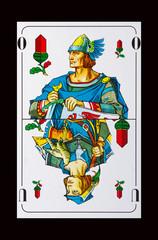 Spielkarten - Schafkopf-Der Ober sticht immer den Unter