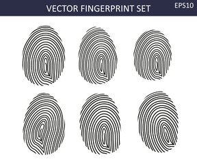 Fingerprints set