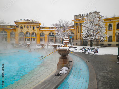 Szechenyi thermal bath in Budapest - 70441918