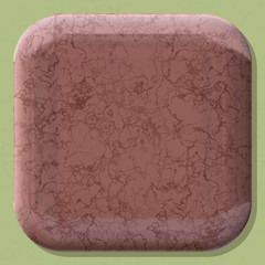 Round box shape frame with generated texture background