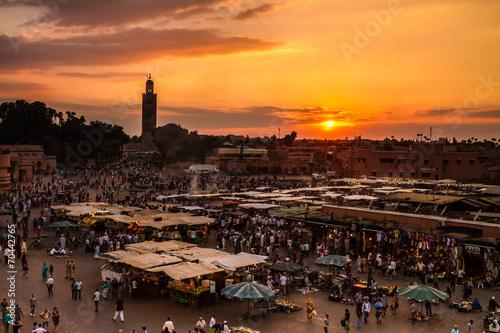 Jamaa el Fna, Marrakesh, Morocco. - 70442765
