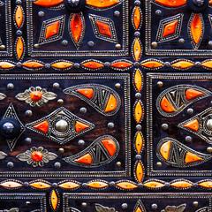 Moroccan artisan art
