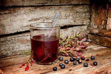 Kissel of wild berries