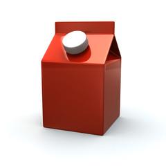Orange blank juice pack