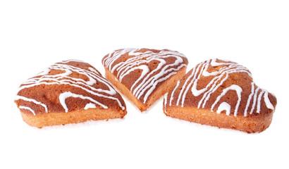 Heart-Shaped Sponge Cakes