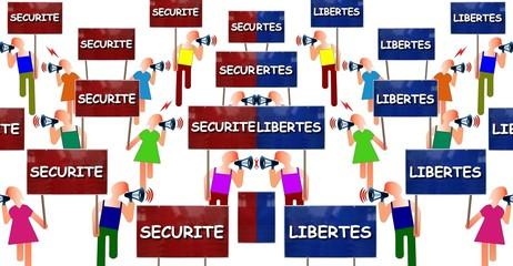 """Manifs """"Sécurité vs Libertés"""""""