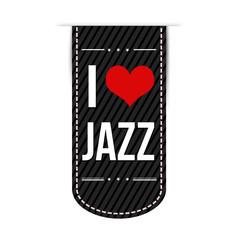 I love jazz banner design