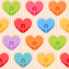 color candy hearts