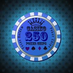 Pocker chip 250