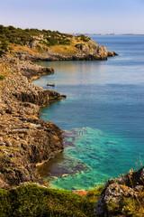 Costa del Salento:Baia di Iluzzo.ITALIA(Puglia)