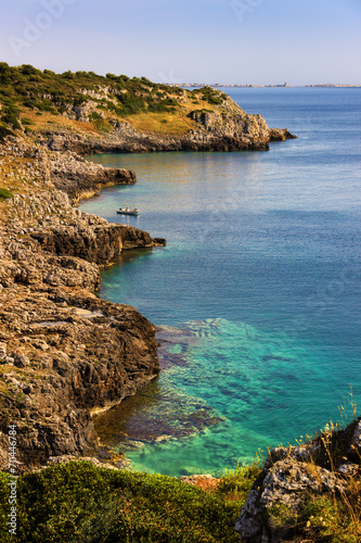 Foto op Plexiglas Cyprus Costa del Salento:Baia di Iluzzo.ITALIA(Puglia)