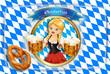 canvas print picture - Hintergründezum Oktoberfest