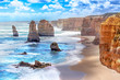 Twelve Apostles along the Great Ocean Road in Australia - 70447974