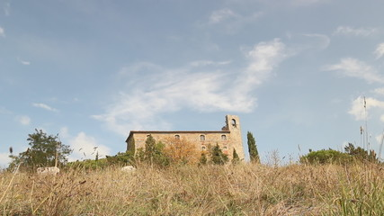 fortress of Girifalco in Cortona, Tuscany, Italy