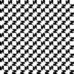 Black and white geometric seamless pattern abstract background