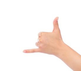 call me gesture