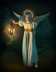 Christmas Angel, 3d CG