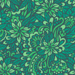 Green meadow. Seamless decorative pattern.