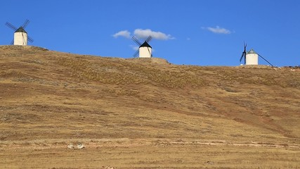 Windmills of Cervantes Don Quixote in Consuegra