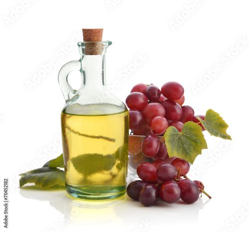 Leinwandbild Motiv Grape seed oil