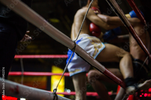 Foto op Canvas Vechtsport thai boxing