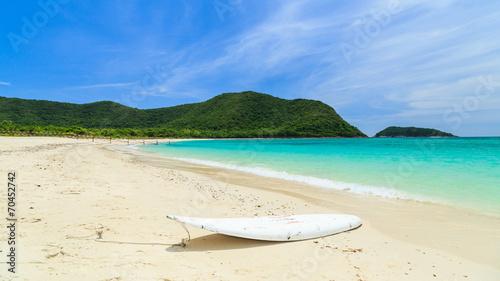 Leinwanddruck Bild Summertime at the beach