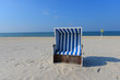 Leinwanddruck Bild - Strand in Sylt