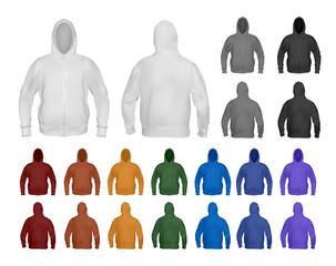 Hoodie template set