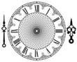 Vector vintage clock - 70453780